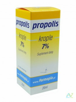Propolis krople 7% 20ml FARMAPIA